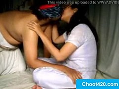Saheena bhabhi ko bandi banakar ghar me choda | visit at choot420.com for full video