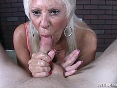 Grown-up MILF adores His monstrous pack In Her cavity