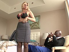 Satisfaction With large swarthy cock by Julia Ann