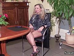 German mommy improve mind immature Virgin chap how to Fuck mature porn videos