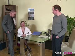 German Office trio following work HD