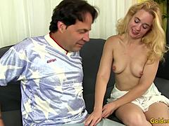 Experienced blonde sable Renae Sucks a lengthened cock and obtains used Mature Porn