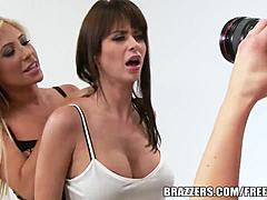 Brazzers - emily addison - two-on-one relish